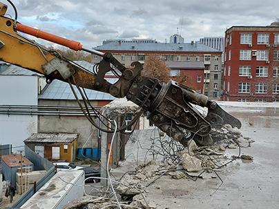 Демонтаж аварийного объекта